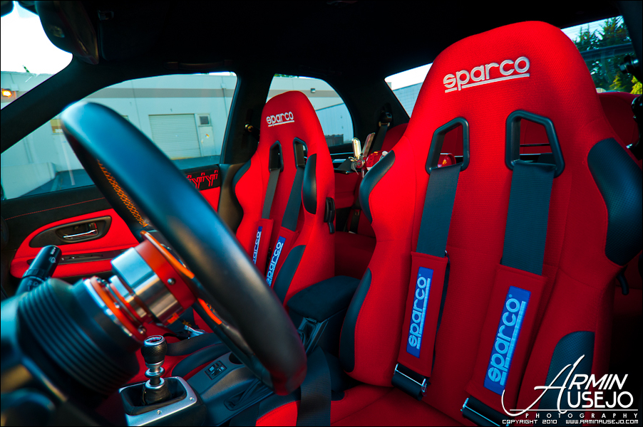 Jeff Hill's 05 STI Interior