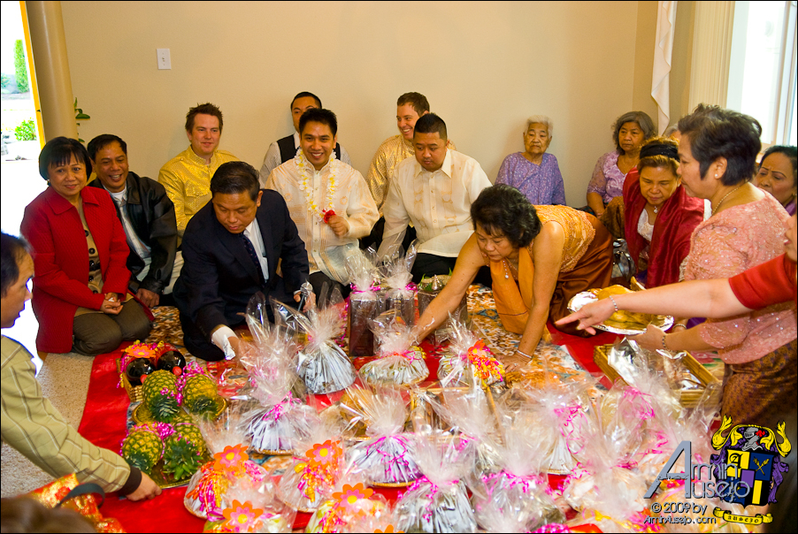 Cambodian engagement party