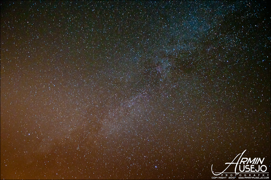 Milky Way behind the Summer Triangle