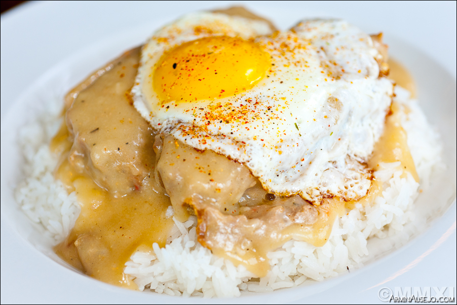 Meatloaf Loco Moco from Cheeky Cafe